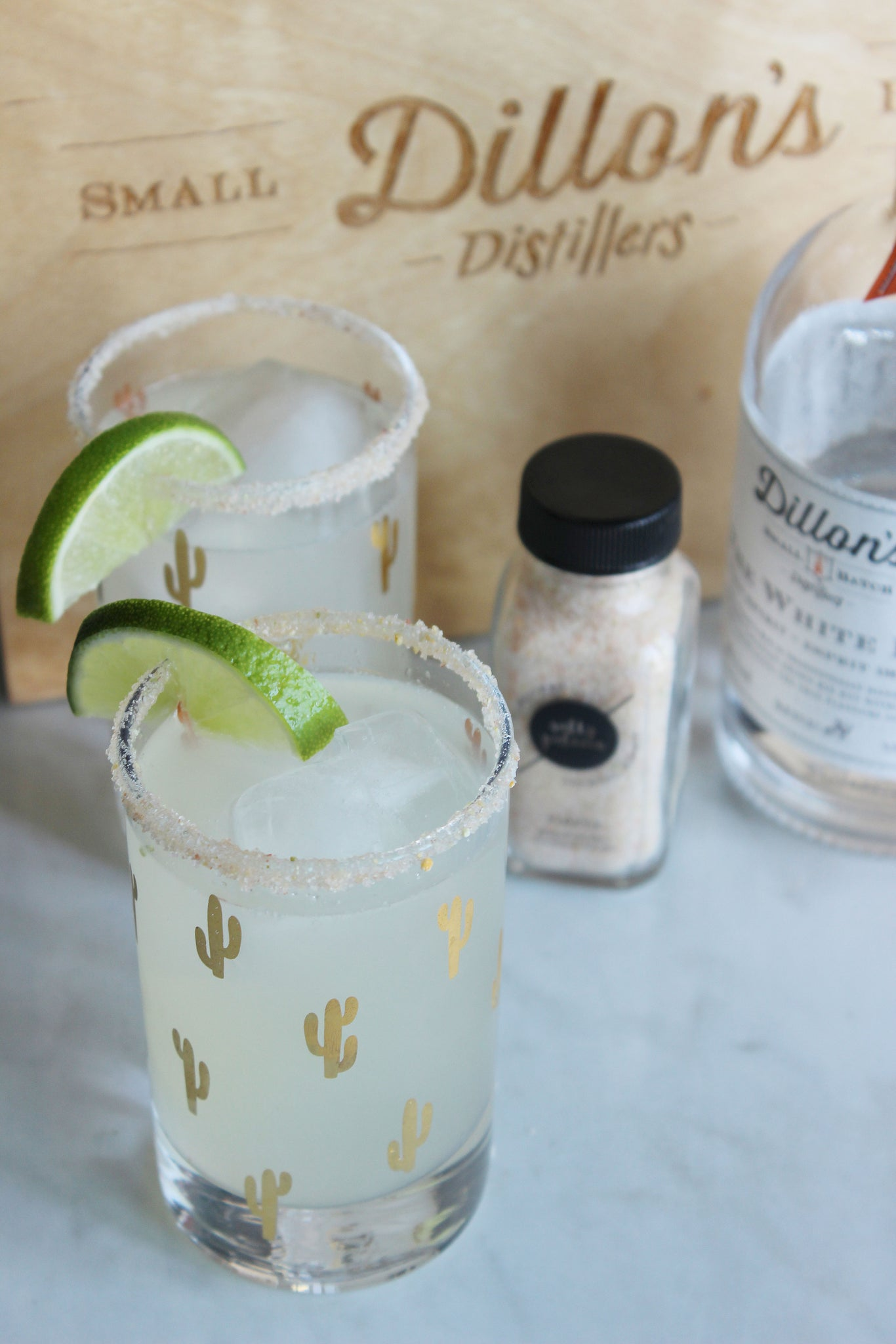 salty paloma dillons white rye margarita cocktail recipe