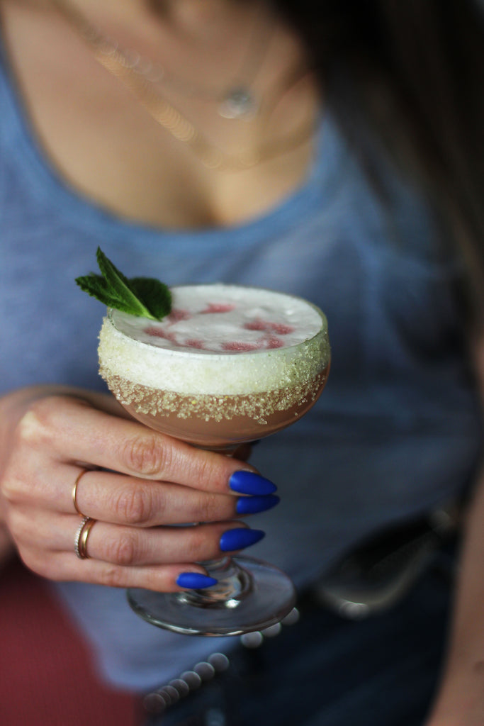 salty paloma dillons gin sour cocktail recipe