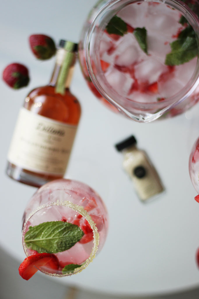 salty paloma dillons strawberry gin mojito cocktail recipe
