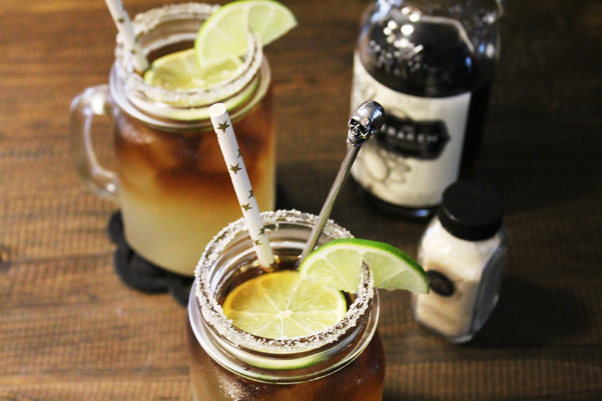 salty paloma kraken dark and stormy cocktail recipe