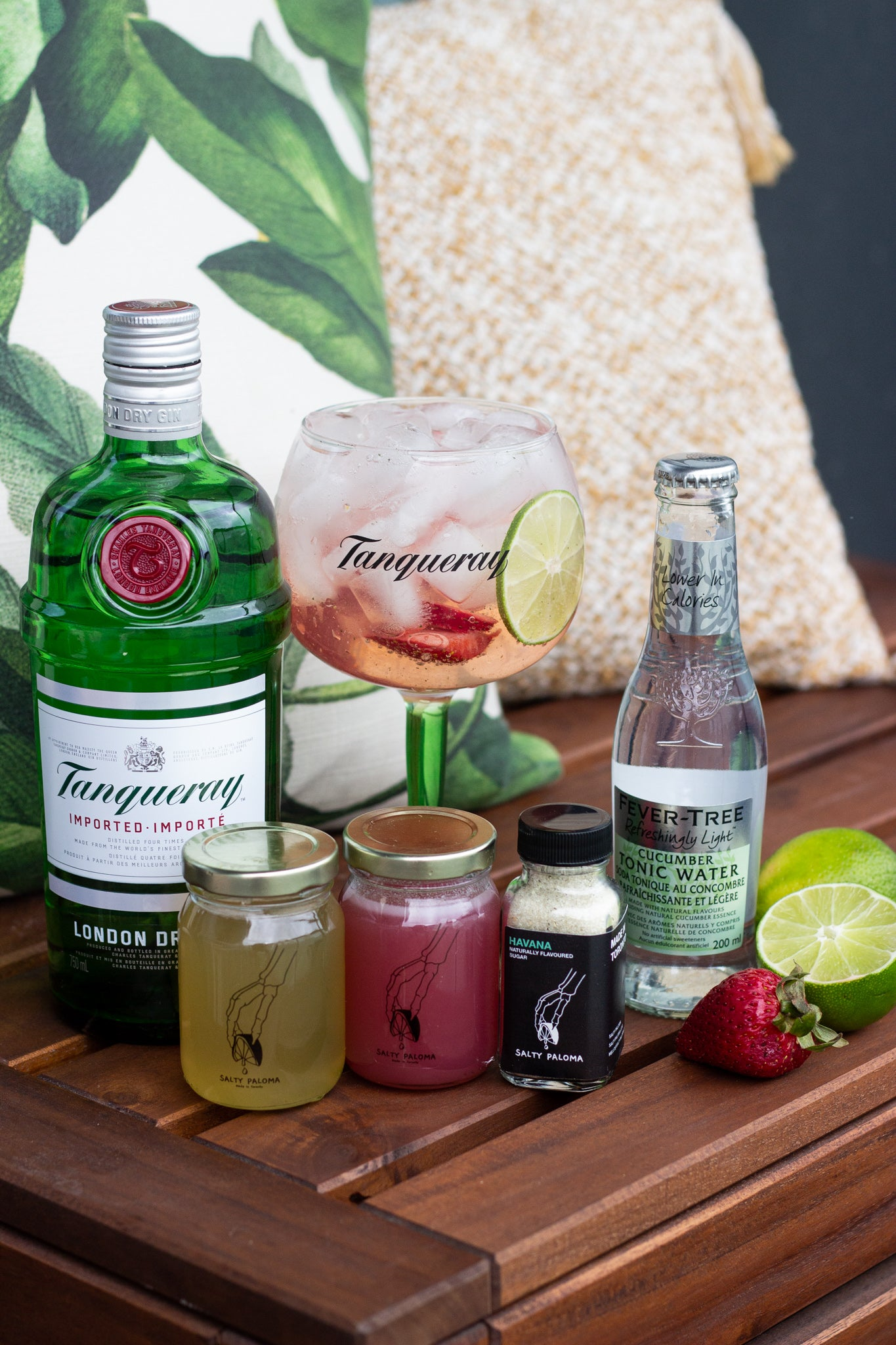 salty paloma tanqueray gin cocktail kit