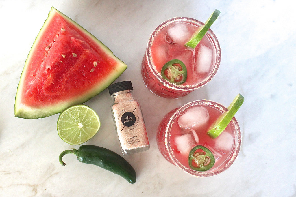 spicy jalapeno watermelon margarita recipe