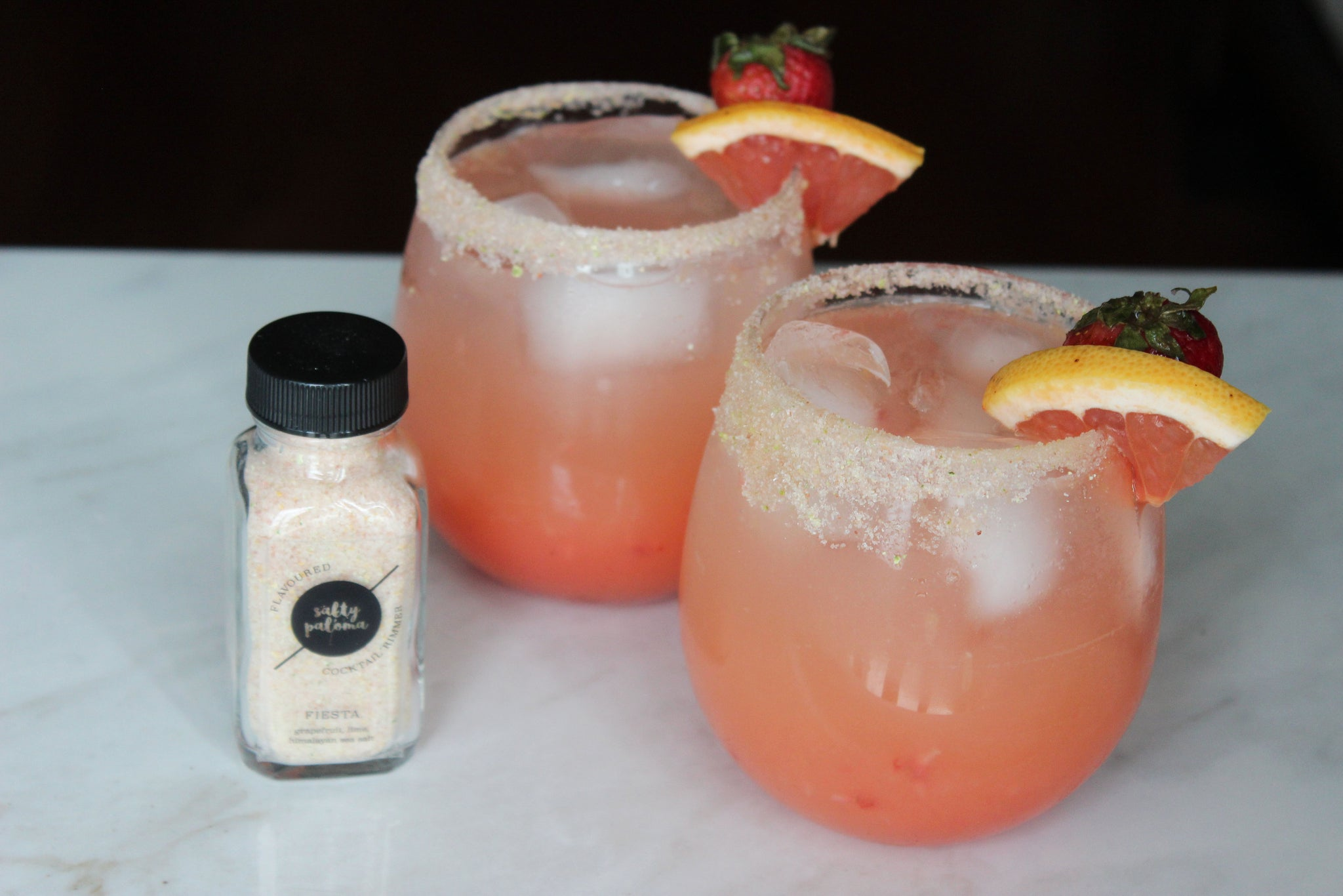 salty paloma strawberry grapefruit salty dog cocktail recipe