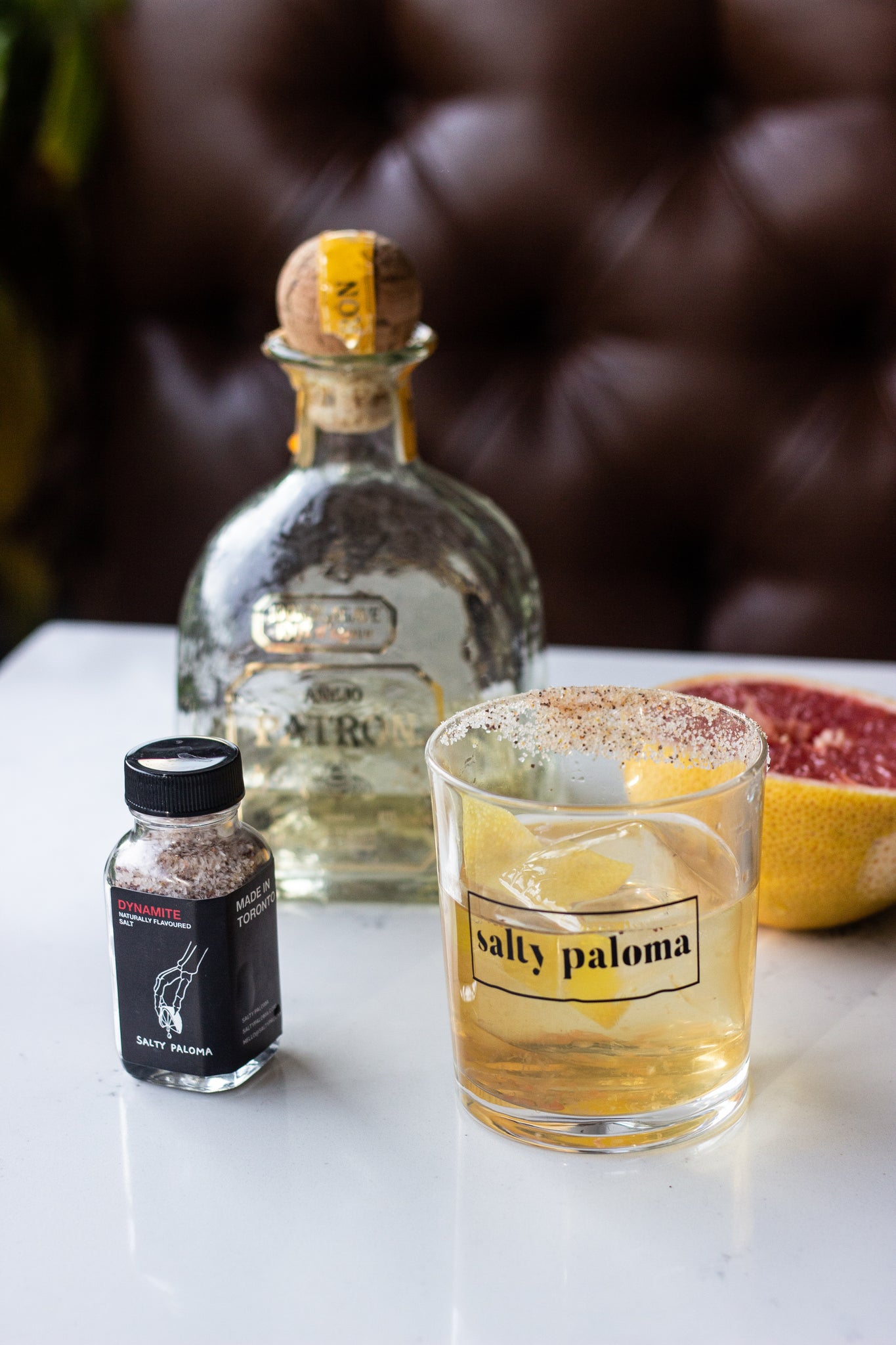 salty paloma patron reposado old fashioned recipe