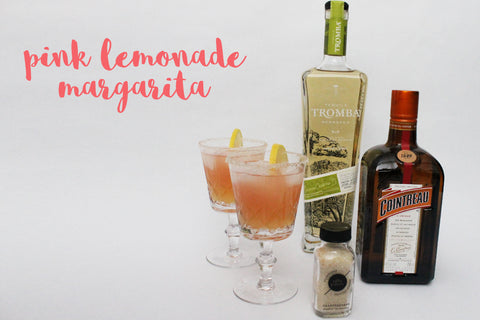 Salty Paloma pink lemonade margarita recipe