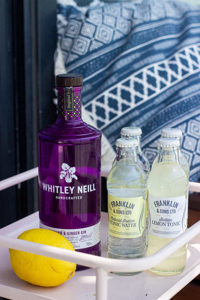 Whitley Neill Rhubarb Ginger Gin and Tonic Kit