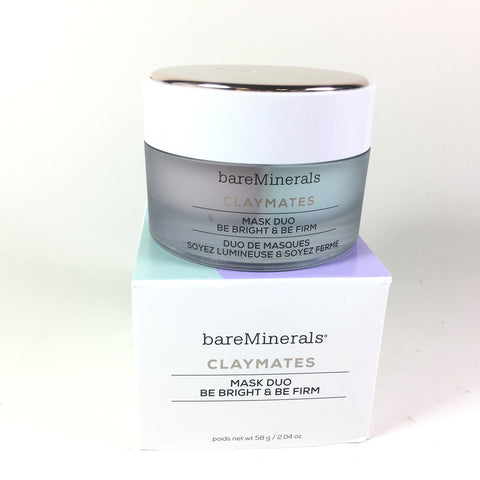 BareMinerals ClayMates Be Bright & Be Firm Mask Duo 2.04 oz