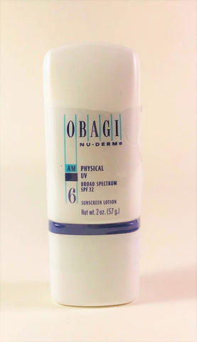 Obagi Nu-Derm Physical UV Block SPF 32  2oz 57g