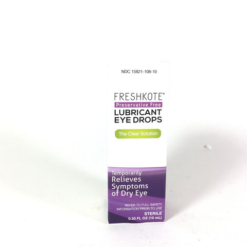 FreshKote Lubricant Eye Drops 10 ml