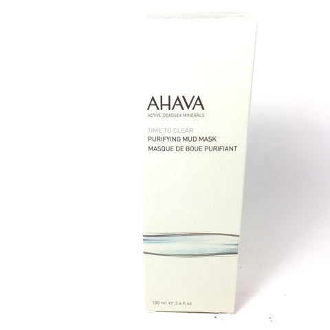 AHAVA Purifying Dead Sea Mineral Mud Masks 3.4 oz