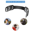 Adjustable Black Face Mask Holder – 5 Pcs Ear Saver Extender Strap Extension