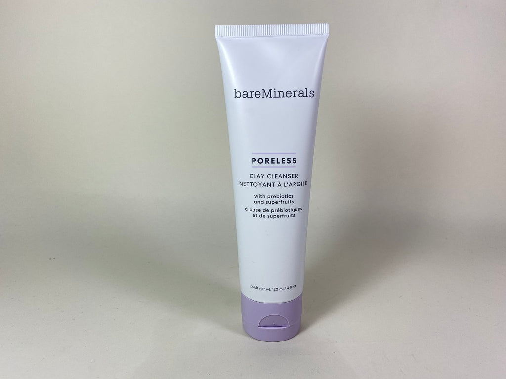 BareMinerals Poreless Clay Cleanser with Prebiotics and Superfruits 4 oz