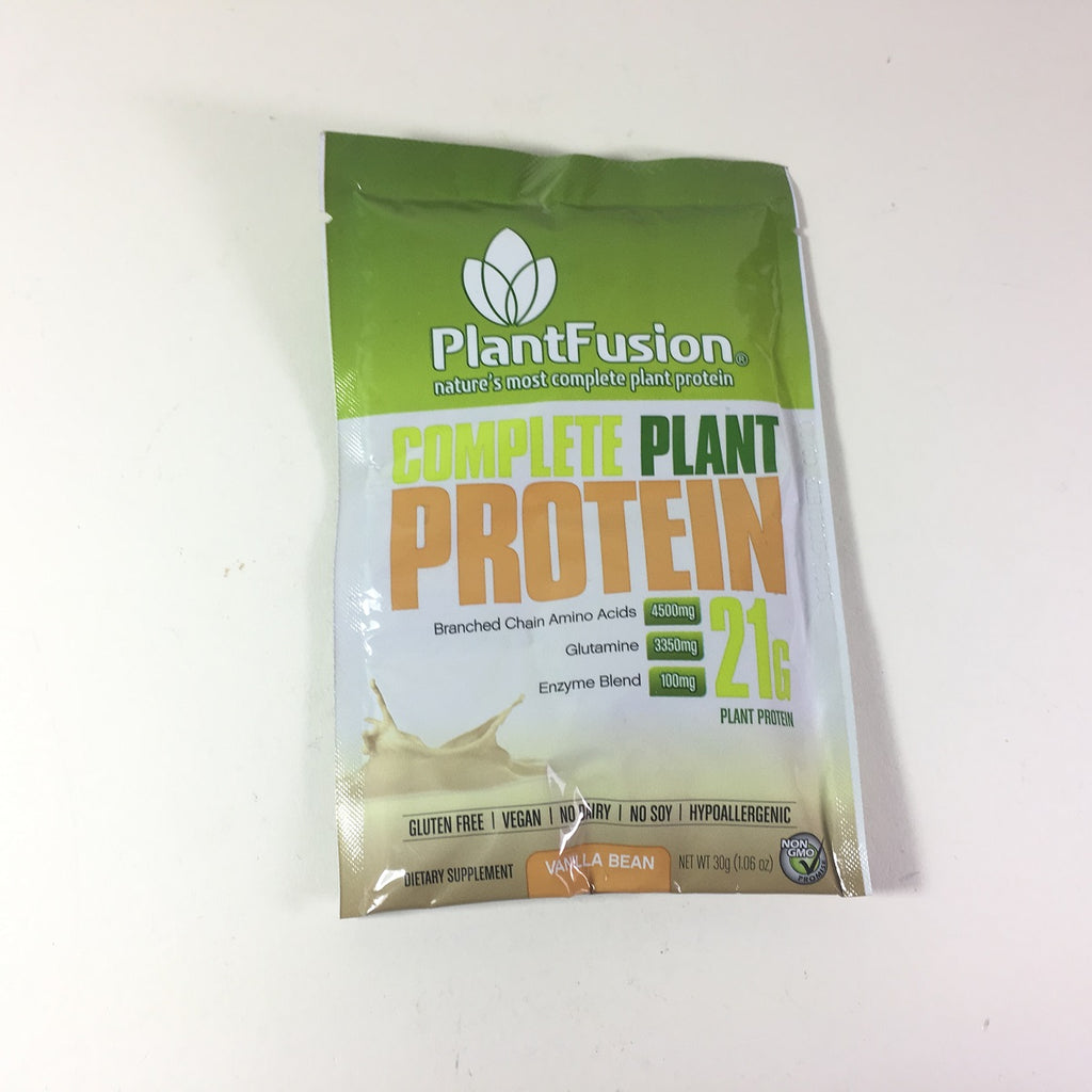 Plantfusion Dietary Supplement Vanilla Packet 30 Grams