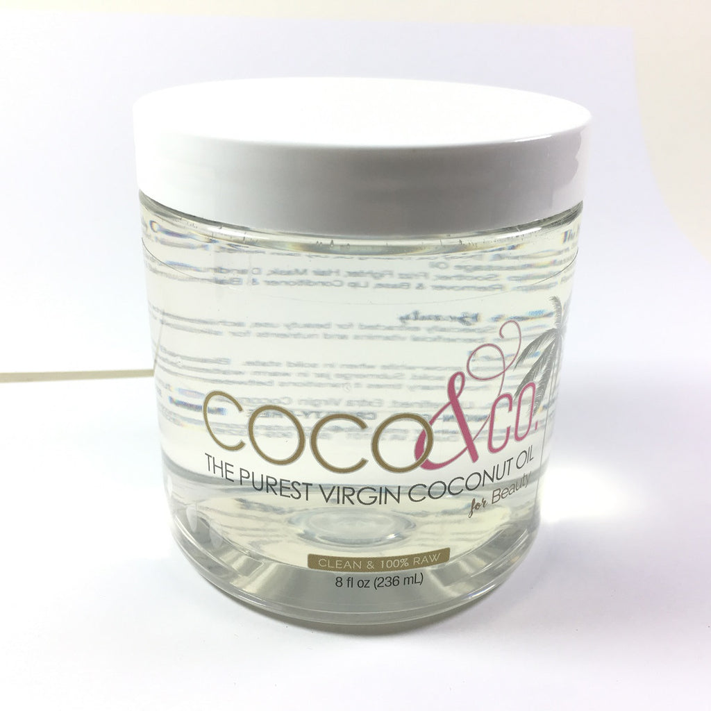 COCO&CO Coconut Oil for Hair & Skin RAW 8 oz