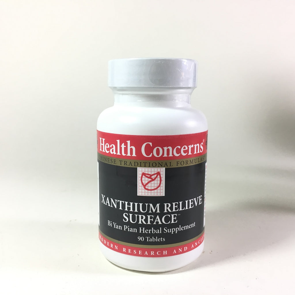 Health Concerns Xanthium Relieve Surface Bi Yan Pian 90 Tablets
