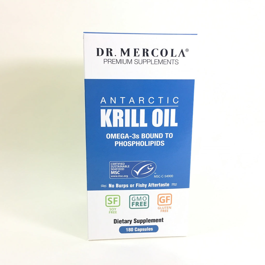 Dr. Mercola Krill Oil 3 Month Supply 180 Caps