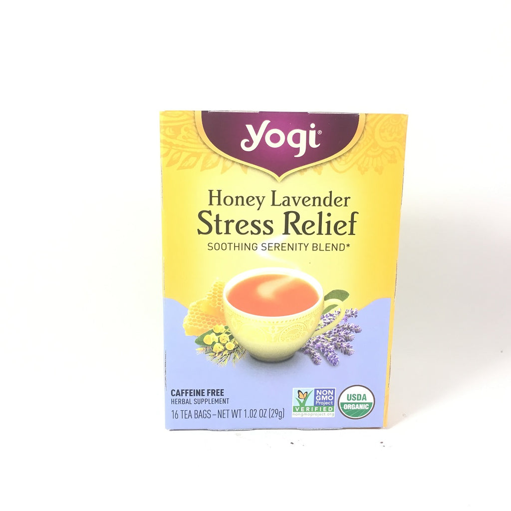 Yogi Tea Honey Lavender Stress Relief 16 Tea Bags