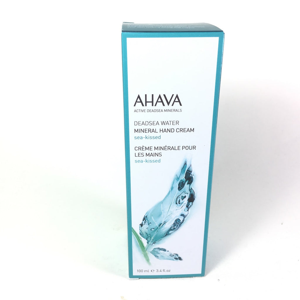 AHAVA Dead Sea Mineral Hand Creams Sea-Kissed 3.4 oz