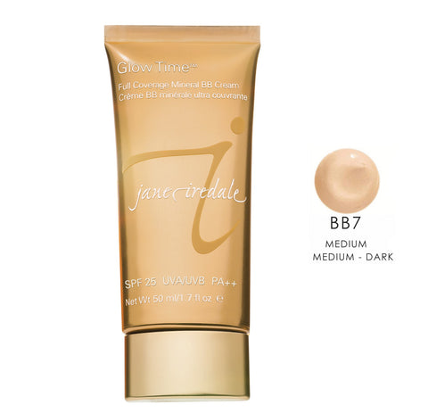 Jane Iredale Glow Time Mineral BB Cream - BB7 Medium  1.7 oz