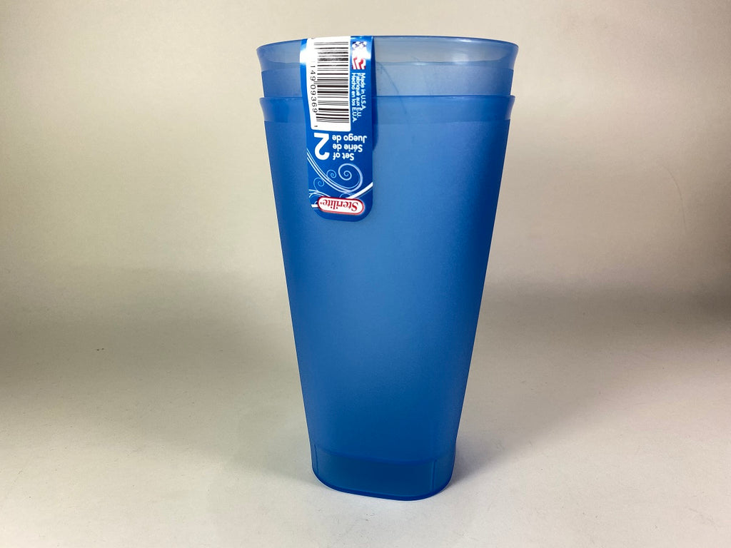 Sterilite Tumblers 2Pc 32Oz Blue