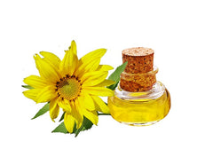 sunflower oil, Vitamin E, unsaturated fats