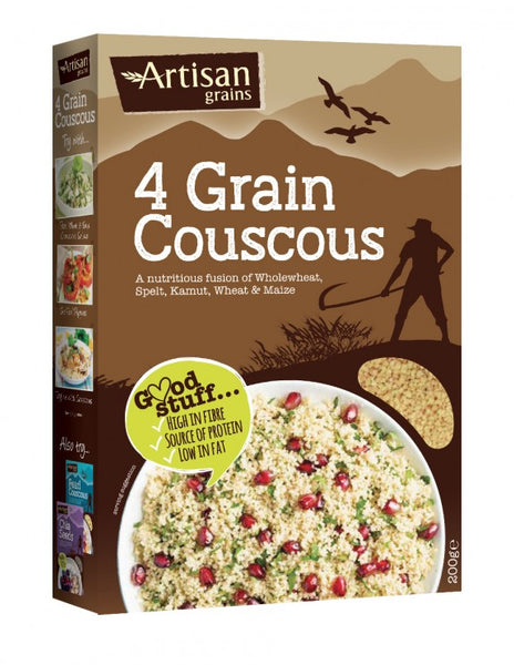 4 Grain Couscous 200g - Green Food Direct