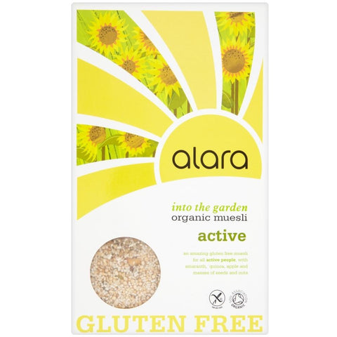 Gluten Free Active Organic Muesli 400g - Green Food Direct