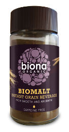 Biona Organic BioMalt - Grain Coffee instant 100g - Green Food Direct