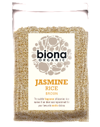 Jasmine Rice Brown Organic 500g - Green Food Direct