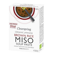 Instant Miso Soup Paste with sea vegetables 4 x 15g - Green Food Direct