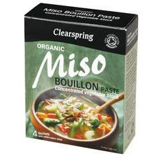 Miso Bouillon Paste 4 x 28g - Green Food Direct