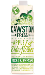 natural juice, cold pressed juice, apple and elderflower juice