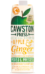 Apple & Ginger 1L - Green Food Direct