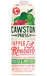 Apple & Rhubarb 1L - Green Food Direct