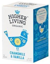 Chamomile & Vanilla Organic Herbal Infusion - 15 Bags - Green Food Direct