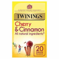 Cherry & Cinnamon Tea 20 Bags (40g) - Green Food Direct