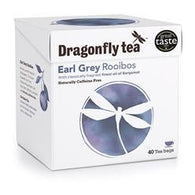 Earl Grey Rooibos Tea, Dragonfly Tea 40 tea bags (100 g) - Green Food Direct