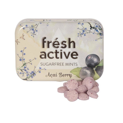 Sugar Free Compressed Sweets with Acai Berry 20g - Green Food Direct