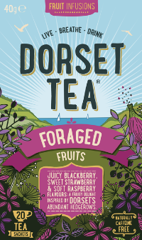 Foraged Fruits Dorset Tea 20 Box (40g) - Green Food Direct