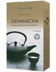Organic Genmaicha Japanese Green Tea with Roasted Rice 40g (20 bags) - Green Food Direct