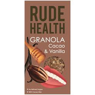 granola, Rude Health, breakfast, cocoa nibs, vanilla, proteins,