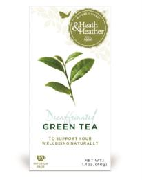 Green Tea Decaffeinated 20 bags (40g) - Green Food Direct