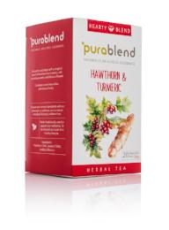 Hearty Blend - Hawthorn & Turmeric (20 Enveloped Tea Bags) - Green Food Direct