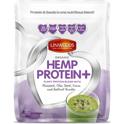 Organic Hemp Protein with Flax Chia Cocoa & Beetroot 360g - Green Food Direct
