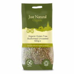 Organic Gluten Free Buckwheat 500g - Green Food Direct
