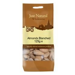 Almonds Blanched 125g - Green Food Direct