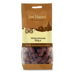 Whole Almonds - Green Food Direct