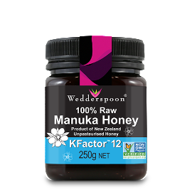 Manuka Honey Raw Organic KFactor 12 - Green Food Direct