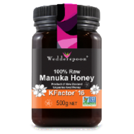 Manuka Honey Raw Organic KFactor 16 - Green Food Direct