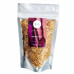 Edible Mealworms 20g - Green Food Direct